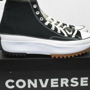 Converse Run Star Hike High Black Size 12